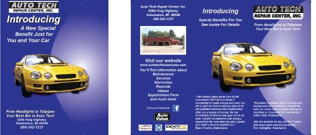 Auto Tech Poster