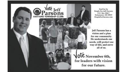 Jeff Parsons BW Ad