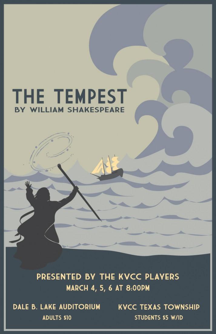 The Tempest Poster-Design Winner