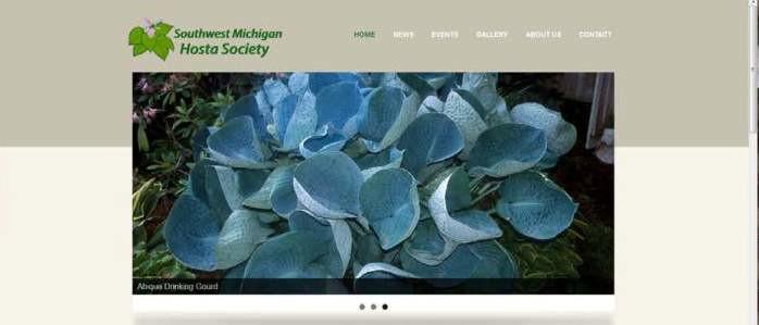 Southwest Michigan Hosta Society website